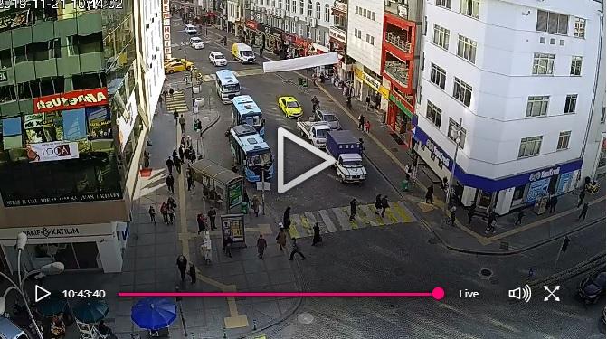Rize Cumhuriyet Caddesi Canlı Mobese Kameraları İzle