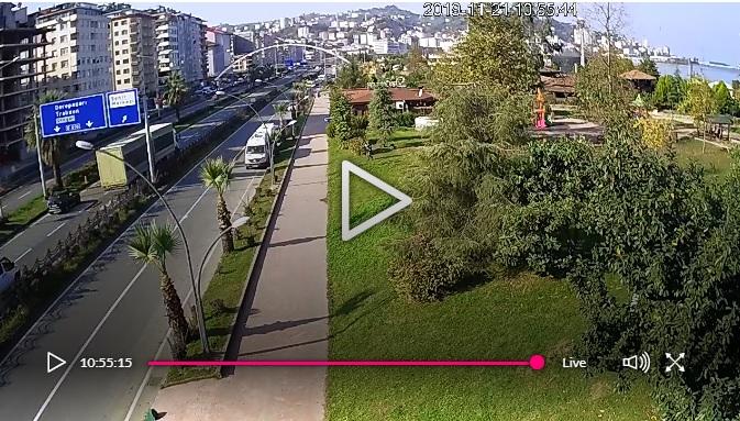 Rize Menderes Bulvarı Mobese Kameraları İzle