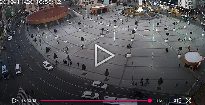 Rize Meydanı Canlı Mobese Kameraları