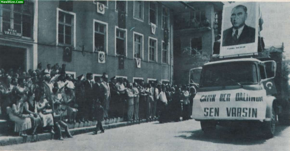 1978 Rize İlk Çay ve Turizm Festivali