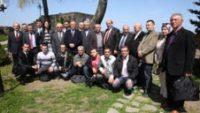 Rize Kalesinde Basın Toplantısı