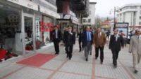 Rize Valisi ve Belediye Başkanından Taksicilere Ziyaret