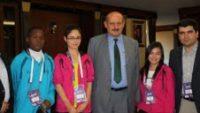 Olimpik Gençlerden Başkan Bakırcıya Ziyaret