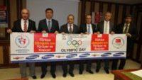 Rize'de Olimpik Yürüyüş