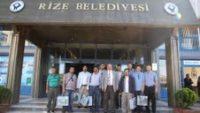 Mardinli Gazeteciler'den Başkan Bakırcıya Ziyaret